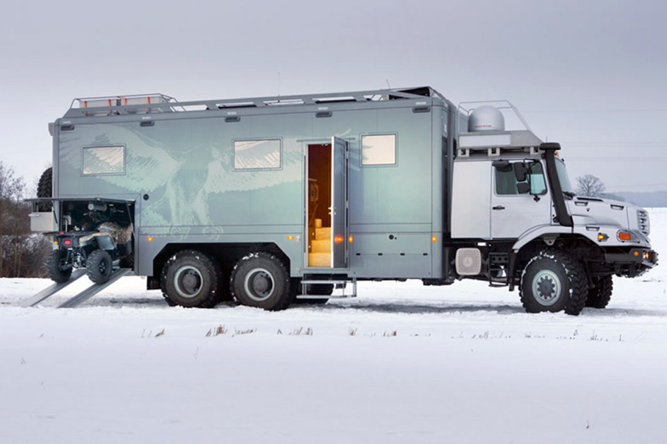 The Mercedes Toughest Camper Van Yet IdleSociety