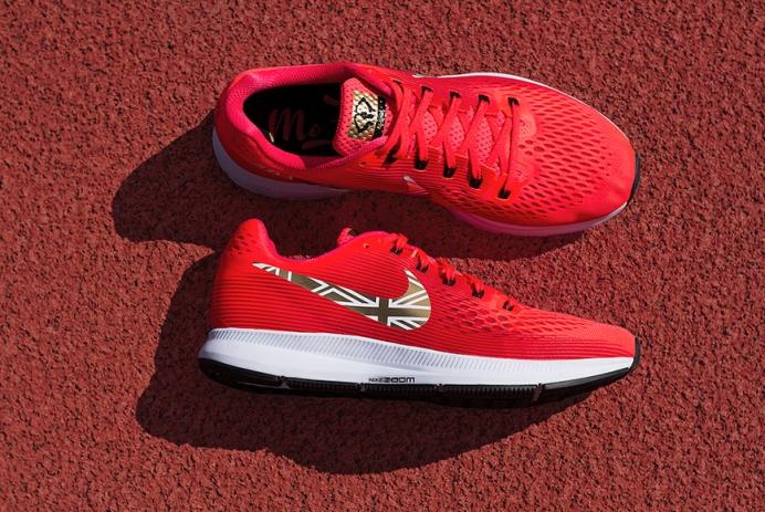 cf2faae074 Nike Drops Mo Farrah Custom Air Zoom Pegasus