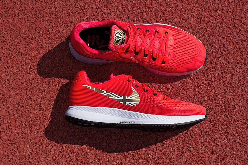 21bae36c77b0 Nike Drops Mo Farrah Custom Air Zoom Pegasus – IdleSociety