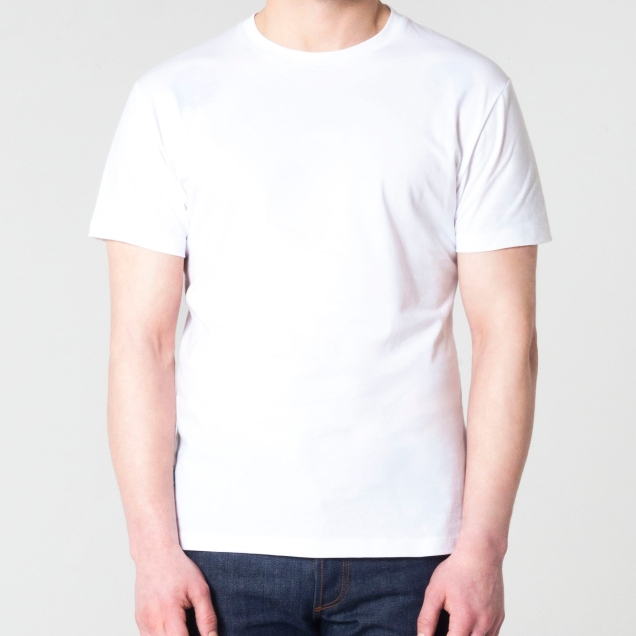 OURVER White T-Shirt Front