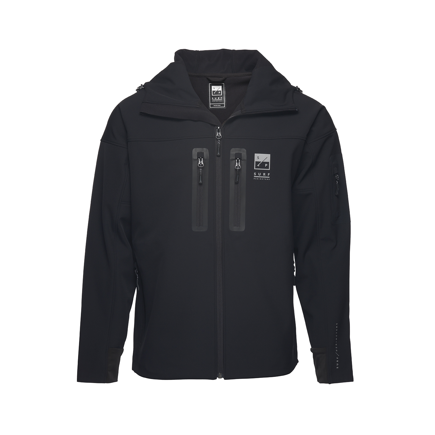 Surf Perimeters - The Stealth DBHS Softshell jacket - £250 - availiable from www.surfperimeters.com