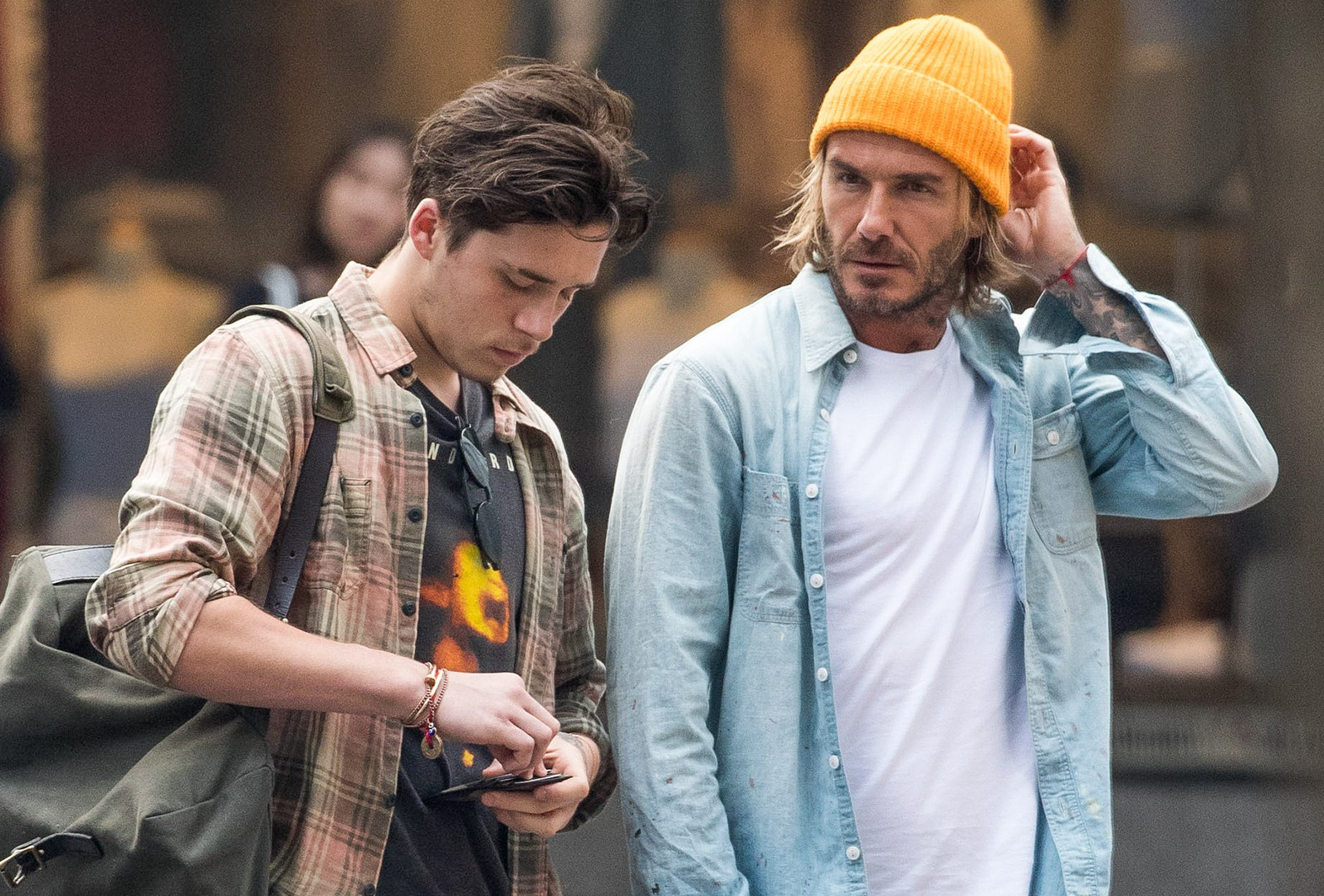35955238384b Style Moves You Should Steal From David Beckham – IdleSociety