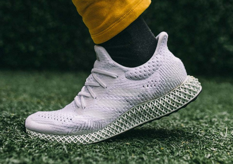 746789cff5c Adidas Futurecraft 4D in All-White – IdleSociety