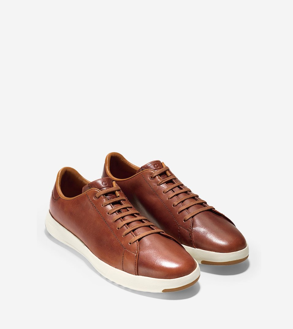 Cole Haan_GrandPrø Tennis_Woodbury Handstain Leahter