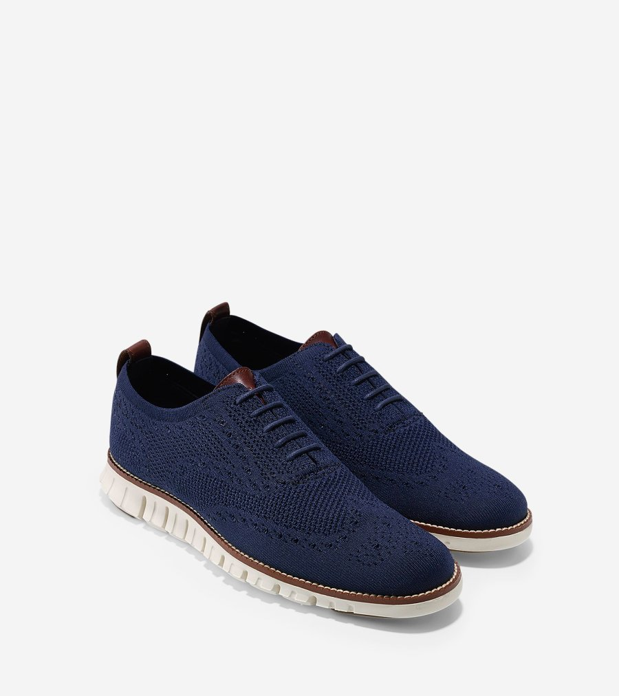 Cole Haan_ZERØGRAND with Stitchlite Oxford_Navy