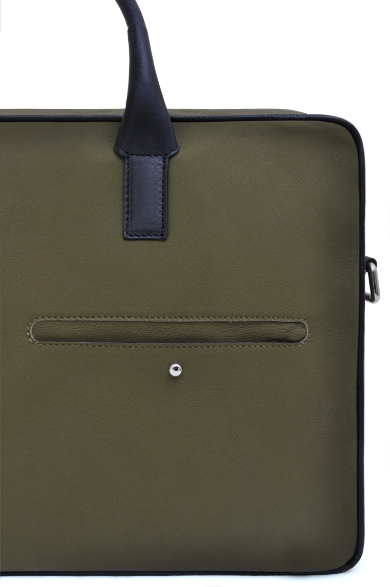 Jermyn Briefcase Detial shot1