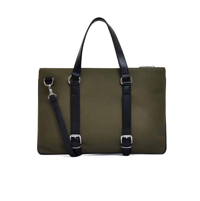 Saville Briefcase Back