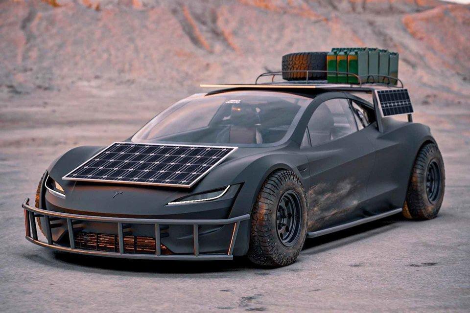 Tesla Safari Roadster